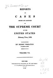 United States Reports: Cases Adjudged in the Supreme Court, Volume 20