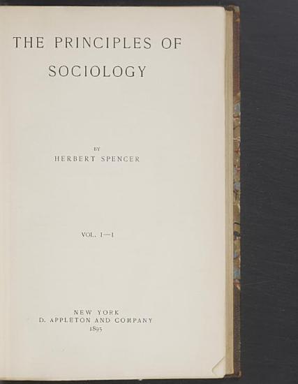 The Principles of Sociology PDF