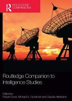 Routledge Companion to Intelligence Studies PDF
