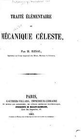 Traité élémentaire de mécanique céleste