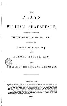The Plays of W  Shakespeare PDF
