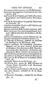 Correspondance littéraire, philosophique et critique: adressée à un souverain d'Allemagne, pendant une partie des années 1775-1776, et pendant les années 1782 à 1790 inclusivement, Partie3,Volume4