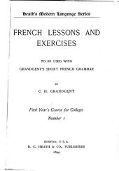 French Lessons and Exercises ...: Issue 1