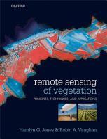 Remote Sensing of Vegetation PDF