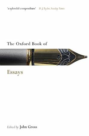 The Oxford Book of Essays PDF