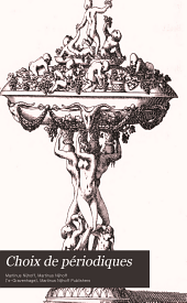 Choix de périodiques: de bons livres et d'ouvrages anciens, rares et précieux, en vente chez Martinus Nijhoff ...