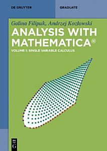 Analysis with Mathematica®