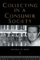 Collecting in a Consumer Society PDF
