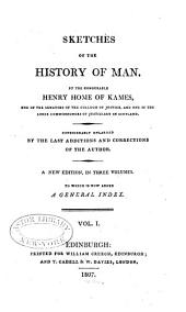 Sketches of the History of Man: Volume 1