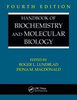 Handbook of Biochemistry and Molecular Biology  Fourth Edition PDF
