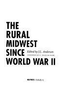 The Rural Midwest Since World War II PDF
