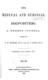 Medical and Surgical Reporter: Volume 3