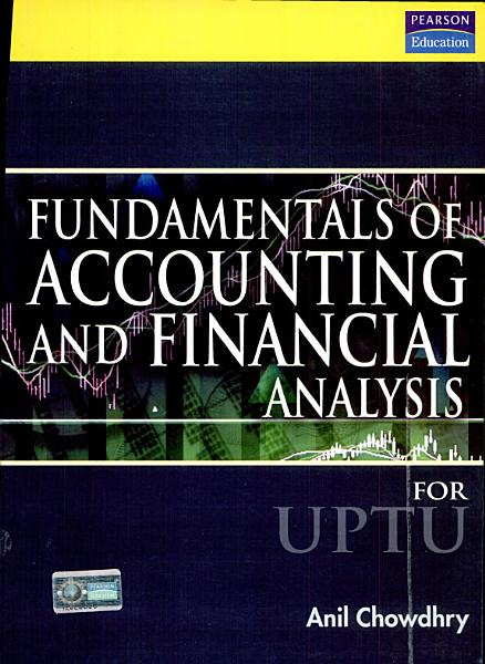Fundamentals of Accounting and Financial Analysis  For U P T U   PDF