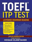 TOEFL  R  Itp Test PDF
