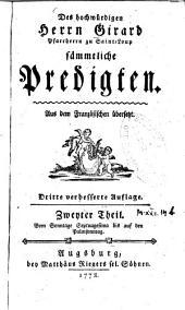 Sämmtliche Predigten: Band 2