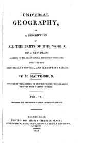 Universal Geography, Or, a Description of All the Parts of the World, on a New Plan: Great Britain and Ireland. Index