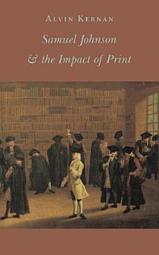 Samuel Johnson   the Impact of Print PDF
