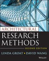 Architectural Research Methods PDF