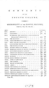 The Works of Nathaniel Lardner: Containing Credibility of the Gospel History, Jewish and Heathen Testimonies, History of Heretics, and His Sermons and Tracts : with General Chronological Tables, and Copious Indexes, Volume 4