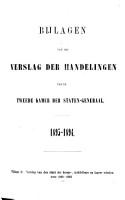 Bijlagen van het verslag der handelingen PDF