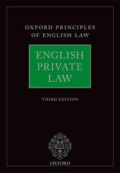 English Private Law: Edition 3