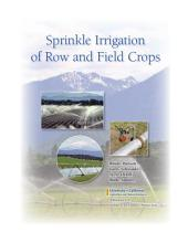 Sprinkle Irrigation of Row and Field Crops