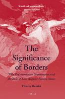 The Significance of Borders PDF