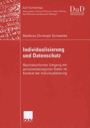 Individualisierung und Datenschutz PDF