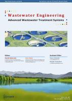 Wastewater Engineering  Advanced Wastewater Treatment Systems PDF