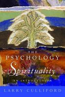 The Psychology of Spirituality PDF