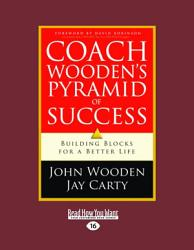Coach Wooden S Pyramid Of Success Large Print 16pt  Book PDF