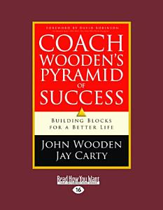 Coach Wooden's Pyramid of Success (Large Print 16pt)