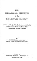The Educational Objectives of the U S  Military Academy PDF