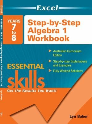 Excel Essential Skills  Years 7 to 8