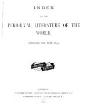 Index to the Periodicals of ...