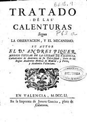 Tratado de las calenturas segun la observacion y el mecanismo
