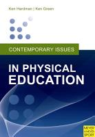 Contemporary Issues in Physical Education PDF