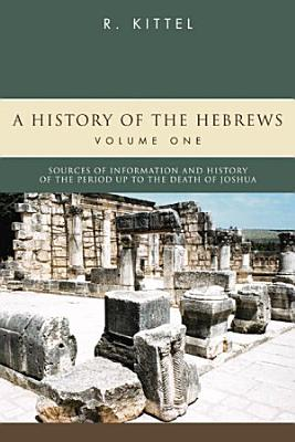 A History of the Hebrews