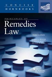 Principles of Remedies Law: Edition 3