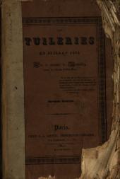 Les Tuileries en juillet 1832