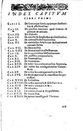 Iacobi Gretseri... Institutionum linguae graecae liber primus... (-tertius)
