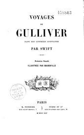 Voyages de Guiliver dans des contrées lointaines...