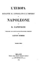 L'Europa Durante il Consolato e L'impero di Napoleone di B. Capefigue