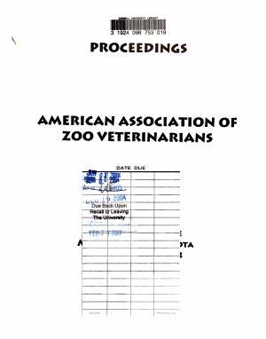 Annual Proceedings - American Association of Zoo Veterinarians
