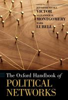 The Oxford Handbook of Political Networks PDF