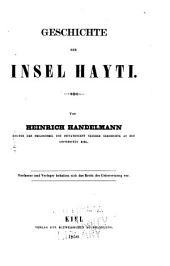 Geschichte der Insel Hayti