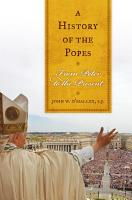 A History of the Popes PDF