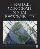 Strategic Corporate Social Responsibility PDF
