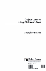 Object Lessons Using Children's Toys