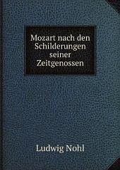 Mozart nach den Schilderungen seiner Zeitgenossen